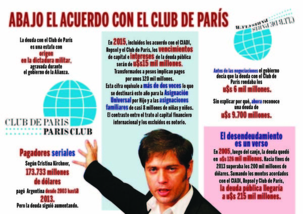 En París y Nueva York, a los pies del capital financiero